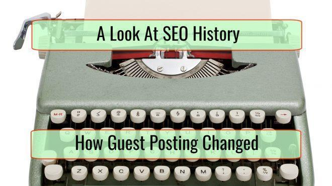 A Look at How Guest Posting Has Changed Over the Years - ESBO SEO