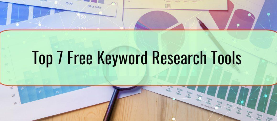Top 7 Free Keyword Research Tools