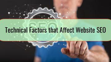 Technical Factors that Affect Website SEO