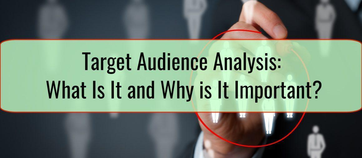 Target Audience Analysis: What Is It and Why is It Important?